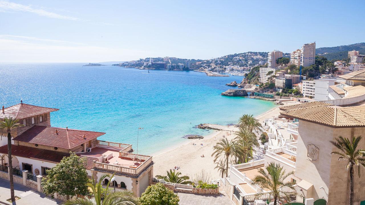 Cala Major Mallorca - overview