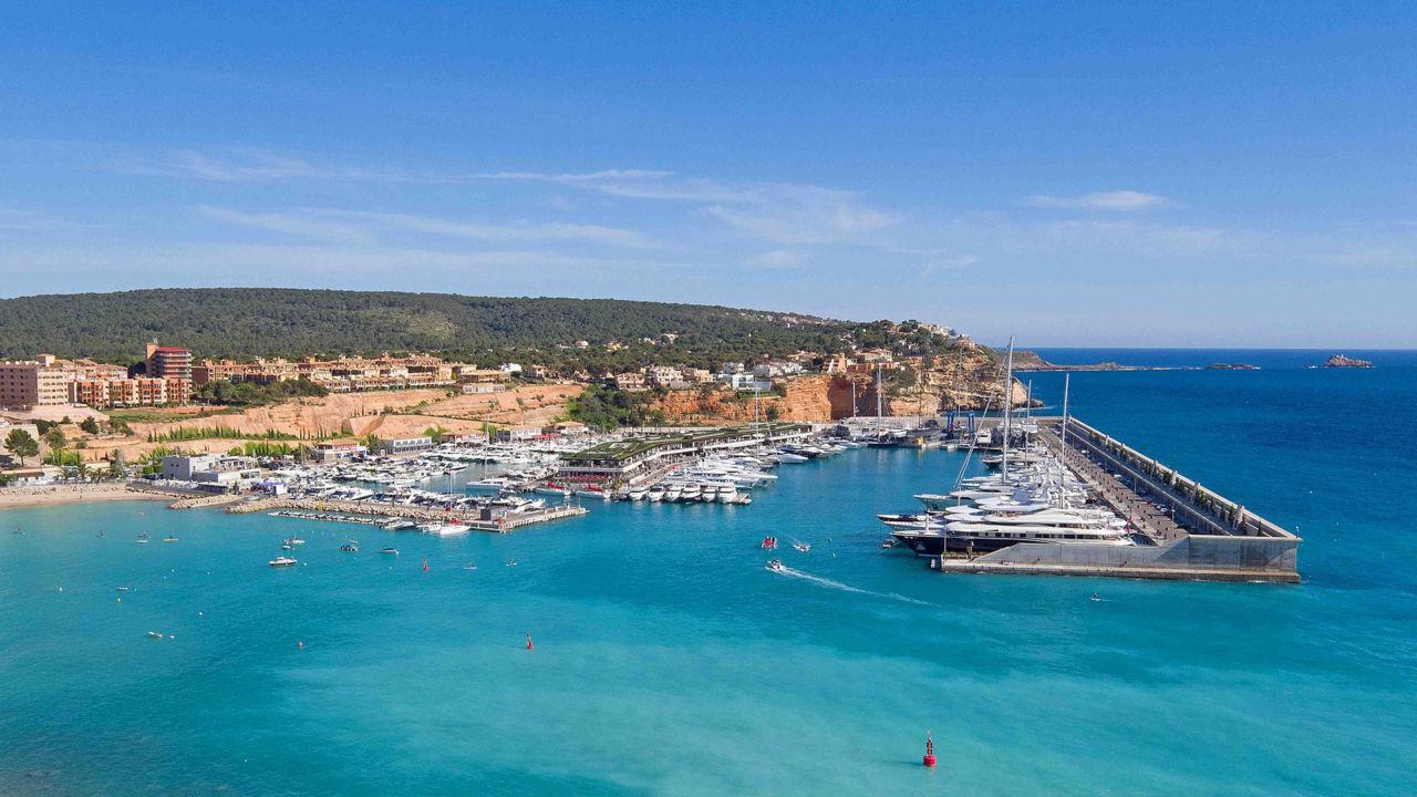 Port Adriano Mallorca - overview